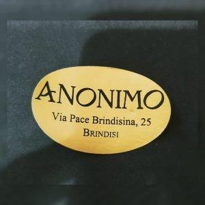 Anonimo Abbigliamento