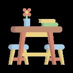 Tavolino e Sedie