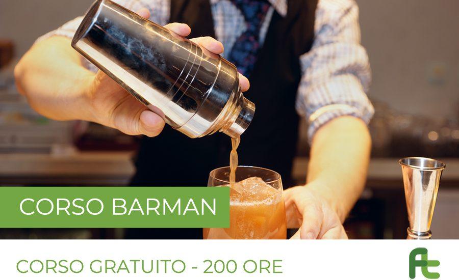 Corso gratuito Barman 200 ore